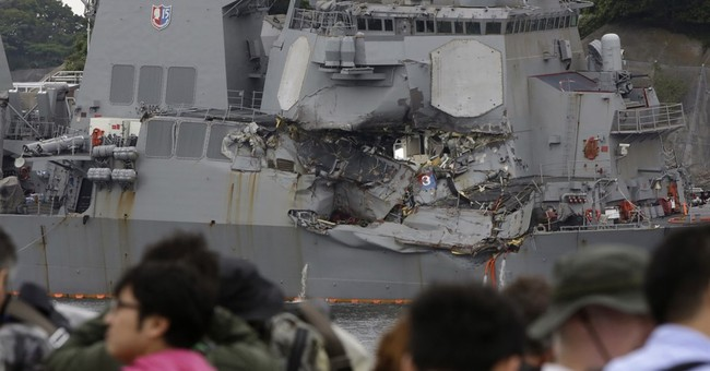 Rear admiral to investigate fatal Navy collision off Japan