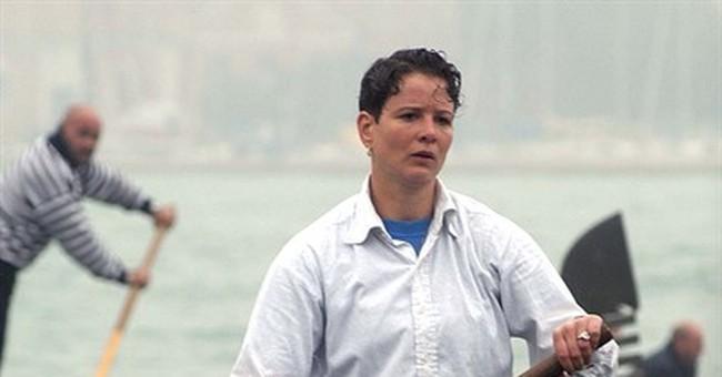 Venice's first female gondolier announces he's transgender