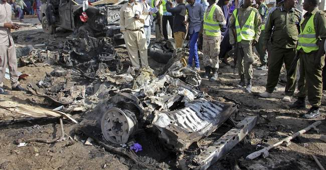 The Latest: Al-Shabab claims suicide blast in Somali capital