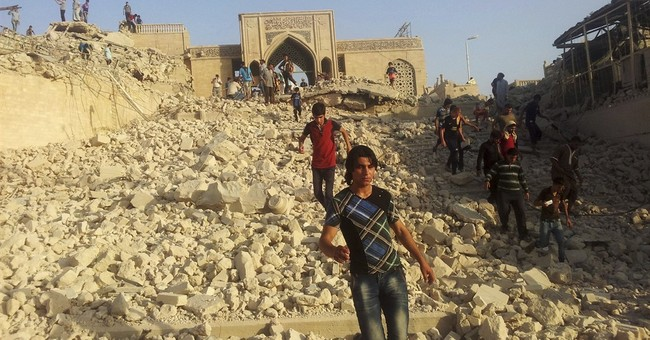 IS blows up Mosul mosque, latest heritage site destroyed