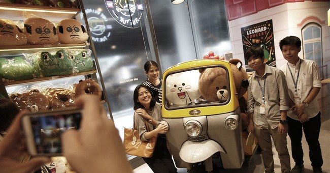 Line messaging digital theme park to open in Thai capital