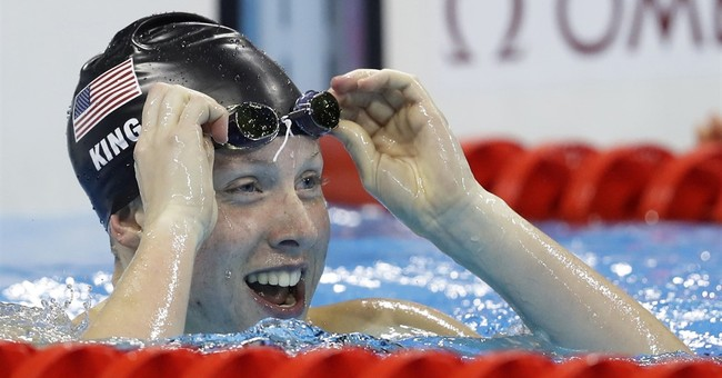 Outspoken US swimmer Lilly King refuses to stay in her lane
