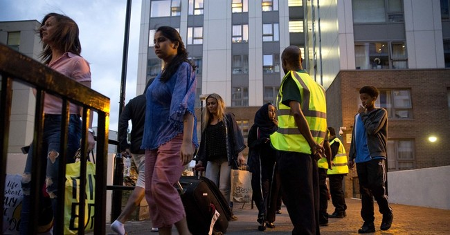 The Latest: Evacuated London residents express anger, fear
