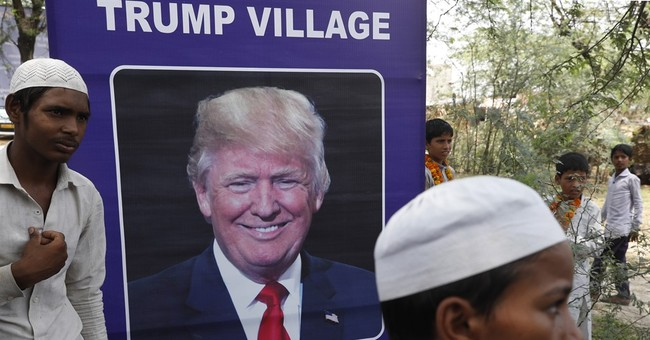 Toilet charity gets Indian village to take on Trump name