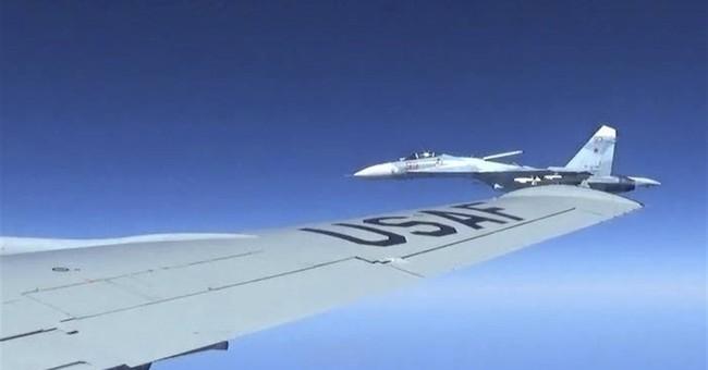 US releases photos of 'unsafe' Russian jet intercept