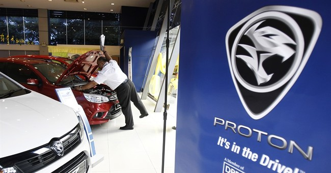 Chinese automaker buys stake in Malaysia's Proton