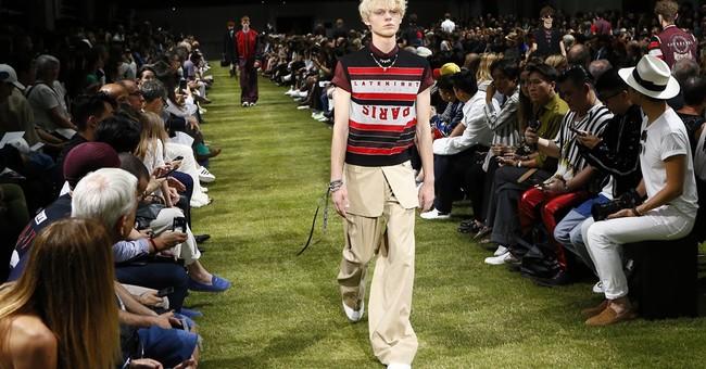 Dior designer celebrates decade at helm at Paris menswear