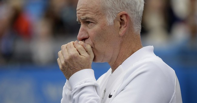 Mellower now, John McEnroe wants today's players to get mad