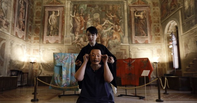 Japan marks 75 years of Vatican ties with Noh theater show