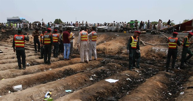 Over 150 dead as overturned fuel truck explodes in Pakistan