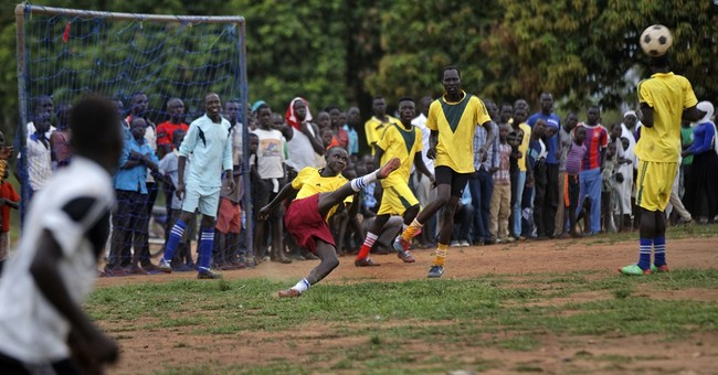 In world's largest refugee camp, youth are drawn to soccer