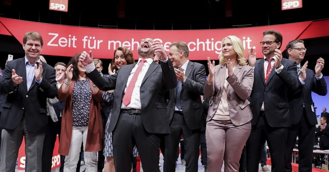 Merkel challenger calls Trump 'will-o-the-wisp' president