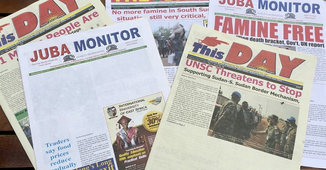 South Sudan censors press, restricts reporters in civil war
