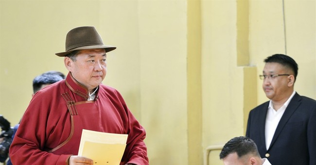 Mongolia's presidential election tightens, runoff likely