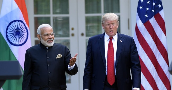 The Latest: Trump says US-India relationship never better