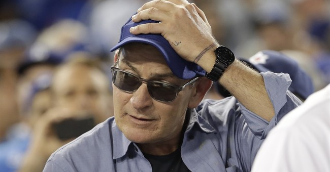 Charlie Sheen owner of Ruth memorabilia up for auction