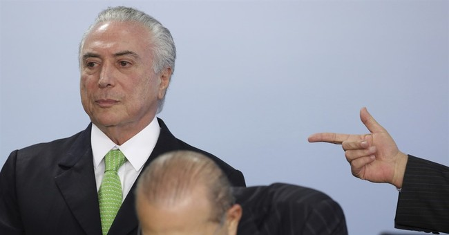 Brazilian President Temer charged with corruption