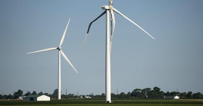 Wind turbine blade breaks in rural mid-Michigan; no injuries