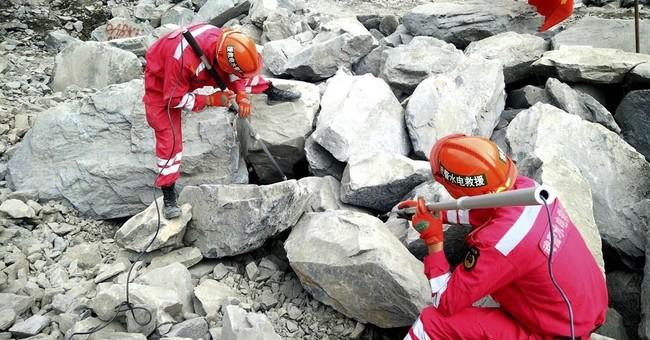 Second landslide hits stricken site in southwest China