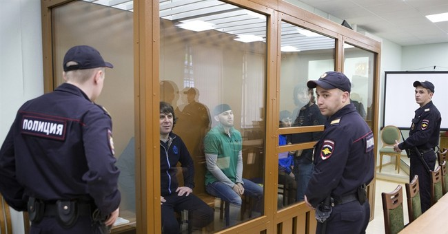 5 found guilty in Russian opposition leader's murder
