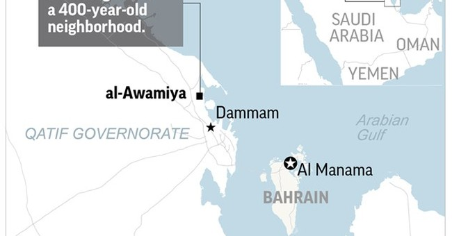 Saudi demolition of historic Shiite homes stokes violence
