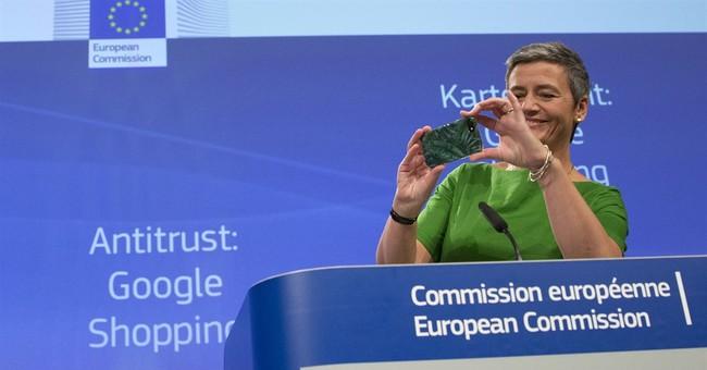 Correction: Google-Europe story