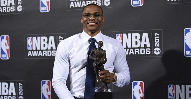 Durant, Jordan congratulate Westbrook on MVP award