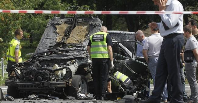 Car bomb kills senior Ukrainian intelligence officer in Kiev