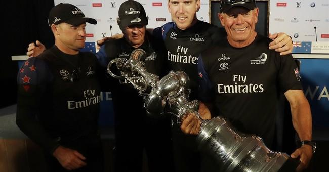 America's Cup win brings relief, elation for New Zealanders