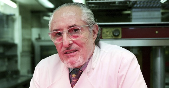 French chef Senderens, visionary and rebel, dies at age 77