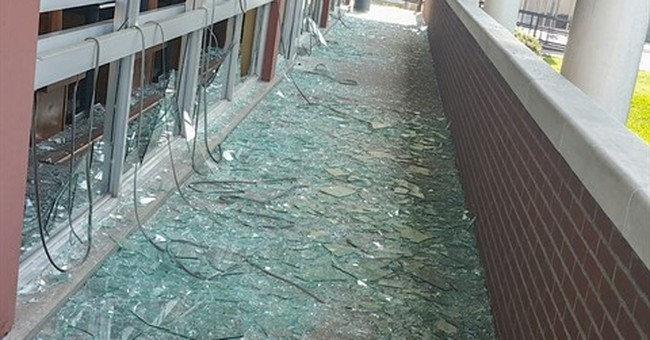 Blast guts part of unused university dorm in Kentucky