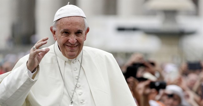 Pope repudiates 'martyr' moniker for suicide bombers