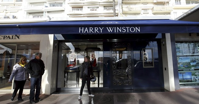 Harry Winston jewelry store robbed in French Riviera