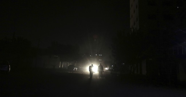 Power shortages leave Gaza in the dark