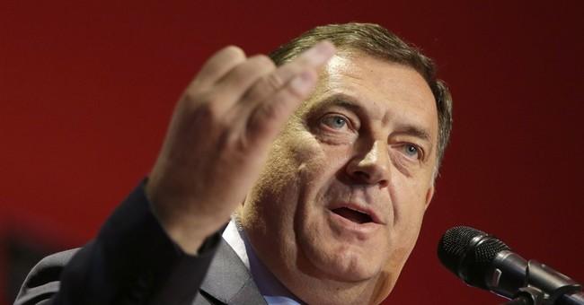 Bosnian Serb nationalist leader rejects US sanctions on him