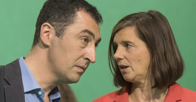 German Greens choose centrist duo for election campaign