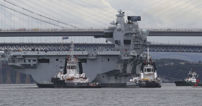 Russia wages war of words with Britain over navy pride