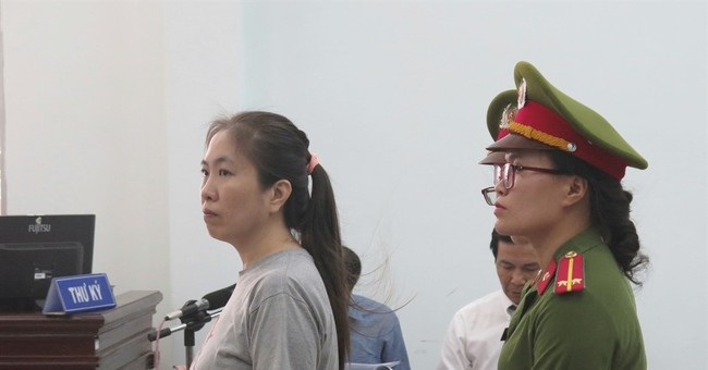 Blogger gets 10-year prison term for defaming Vietnam govt