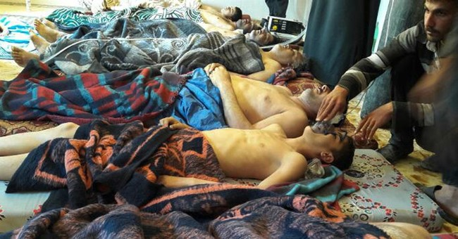 Syria says chemical attack probe work of 'sick mind'