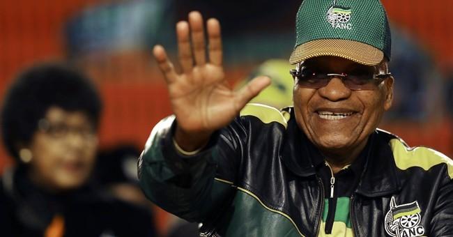 South Africa's Zuma admits party corruption, targets critics