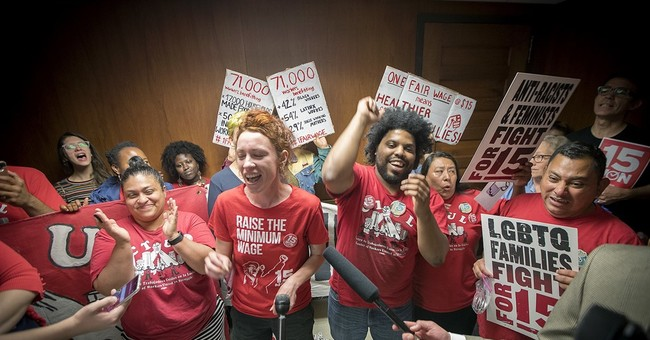 Minneapolis council approves $15 an hour minimum wage