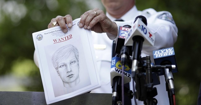 The Latest: Sketch of suspect released in road rage shooting