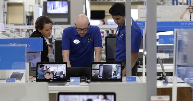 US consumer spending up just 0.1 percent despite income gain