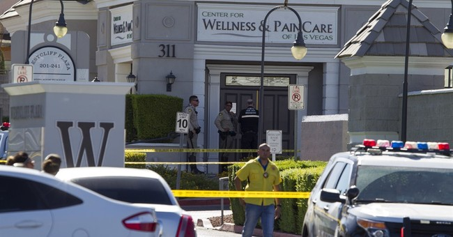 Patient shoots 2 at Las Vegas pain clinic, kills himself