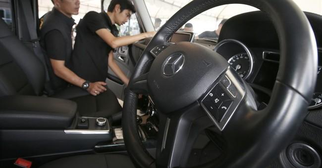 Thai customs seizes 15 luxury cars reported stolen in UK