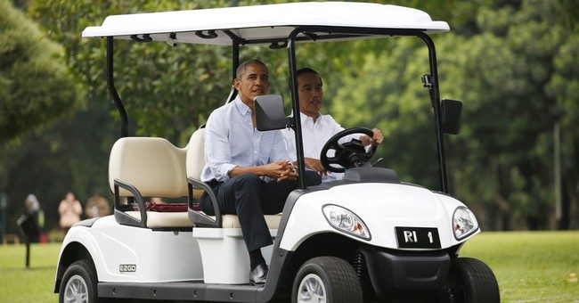 Obama makes nostalgic trip to his Indonesia childhood home