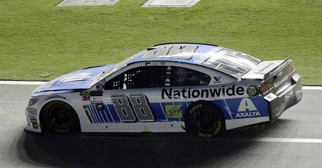 Earnhardt wrecks in what could be final Cup start at Daytona