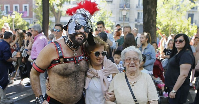 Hundreds of thousands rally for LGBTI rights in Madrid