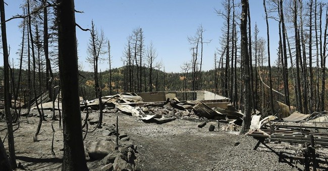 Wildfire risk high in Southwest, northern Great Plains