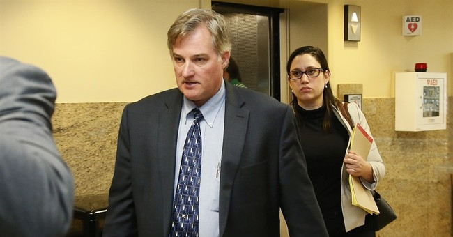 Off-duty cop who killed daughter's boyfriend faces 3rd trial